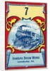 Advertisement for Hamburg Broom Works with Locomotive by Corbis