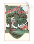 Cherry Time, Boy in Tree by Corbis
