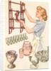Woman with Knickknacks by Corbis