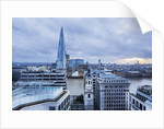 The Thames river and The Shard (Renzo Piano architect) from The Monument by Corbis
