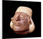 Moche anthropomorphic vase by Corbis