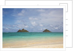 Lanikai Beach and Islands in Background by Corbis