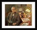 Alexander Fleming (1881-1955). British microbiologist. by Corbis