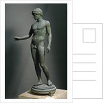Ephebe, Bronze sculpture by Corbis