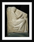 Panel of Ludovisi Throne : Woman placing incense in a Thymiaterion by Corbis