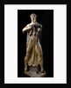 Etruscan sculpture of the goddess Leto holding her son Apollo by Corbis