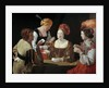 The Cheat with the Ace of Diamonds by Georges de La Tour