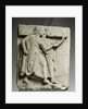 Ancient Greek metope with chorus of young girls by Corbis