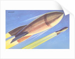 Rockets in Space by Corbis