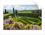 Villa La Foce Garden by Corbis