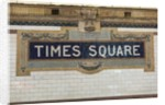Times Square by Corbis