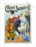 Advertisement for wax Jacquo by Lucien Lefevre