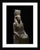 Ancient Egyptian sculpture representing the goddess Hathor by Corbis