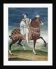 Equestrian Portrait of Francois I, French school by Corbis