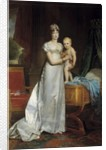 Portrait of the Empress Marie Louise and the King of Rome by Francois Gerard