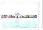 Dorsoduro from The giudecca island. by Corbis