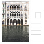 Ca' D'oro palace on the Canal Grande by Corbis
