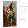 The Voices by Gustave Moreau