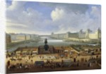 View of Pont Neuf, 1665 by Corbis