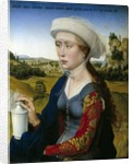 Mary Magdalene from the Triptych of the Braque Family by Rogier van der Weyden
