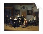 Family Portrait by Adrien Van Ostade