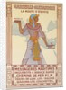 Vintage Travel Poster with Pharaoh by Corbis