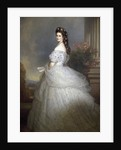 Empress Elizabeth of Austria and Bavaria by Franz Xavier Winterhalter