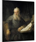 Apostle Paul by Rembrandt van Rijn