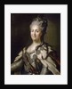 Portrait of Catherine II (1729-96) of Russia by Corbis