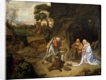 Adoration of the Shepherds by School of Giorgione
