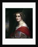Portrait of Amalie von Schintling by Josef Karl Stieler