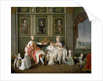 Grandduke Leopold of Tuscany and Family by Wenzel Werlin
