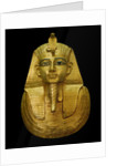 Egyptian Antiquity : gold head of pharaoh by Corbis
