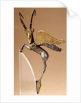 Achaemenid ceremonial handle with winged silver and gold ibex by Corbis
