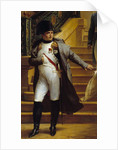 Detail of Napoleon Visiting the Palais-Royal on 1807 by Merry Joseph Blondel