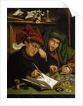 The Usurers by Marinus Van Reymerswaele