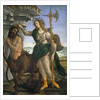 Pallas and the Centaur by Sandro Botticelli