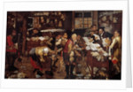 Pawnbroker by Flemish School