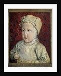 Portrait of the Dauphin Charles Orlant by Jean Hey