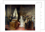Wedding at the City Hall of Paris in 1881 by Henri Gervex