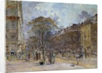 Boulevard des Italiens in Paris by Frederic Houbron