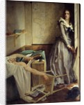 Assassination of Marat by Charlotte Corday by Paul Baudry