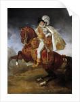 Equestrian portrait of Jerome Bonaparte by Antoine-Jean Gros