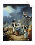 The Oath of La Fayette (Lafayette) at the Festival of the Federa by Corbis