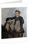 Portrait of Auguste Renoir by Pierre Auguste Renoir