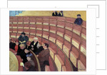 The third gallery at the Theatre du Chatelet by Felix Vallotton