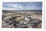Tent Rings, Nunavut, Canada by Corbis