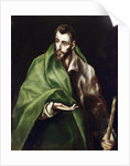 Apostle Saint James the Greater by El Greco