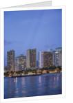 Twilight Waikiki by Corbis