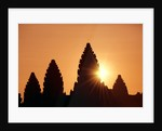Sunrise at Angkor Wat, Siem Reap, Cambodia by Corbis